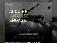 Abstract Sports Website