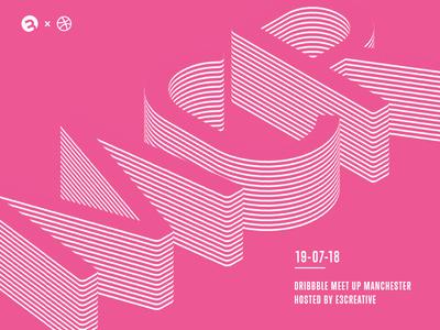 Manchester Dribbble Meetup - E3creative