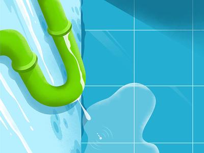 Dealing with moisture - Plumbing