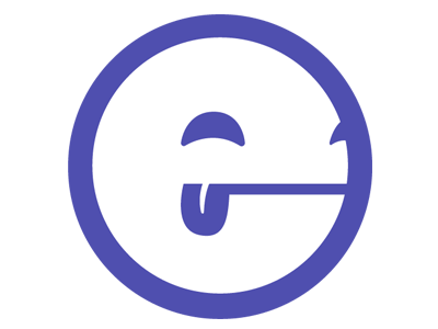New Logo flat vector logo