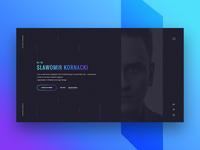 Personal Portfolio - Slawomir Kornacki (WiP)