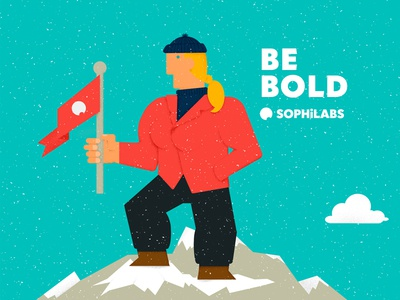 Be bold be bold mountain snow values sophilabs