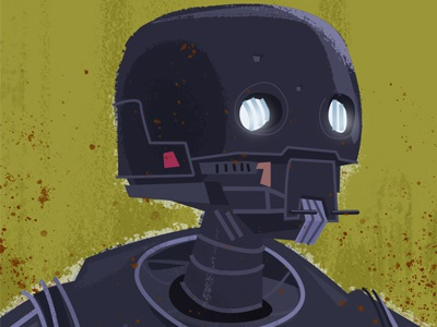 K-2SO space photoshop star wars robot