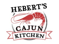 Hebert's Cajun Kitchen Logo Concept