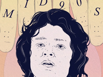 Mid 90's Poster