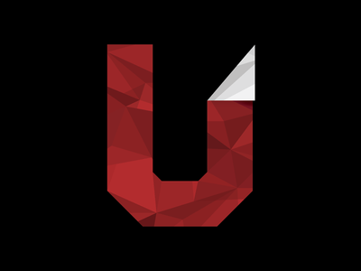 Unfold origami fractals paper u letter typography