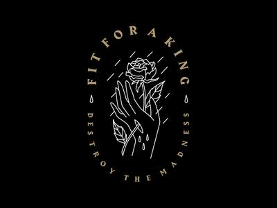 Fit For A King - Custom Mini Collection tattoo monoline apparel band merch merch design graphicdesign design art