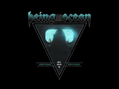 Being As An Ocean - Alone metal fashion apparel merchandise band merch merch design graphic design design art