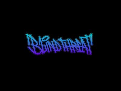 Blind Threat - Branding graffiti street art logo branding graphic design design art
