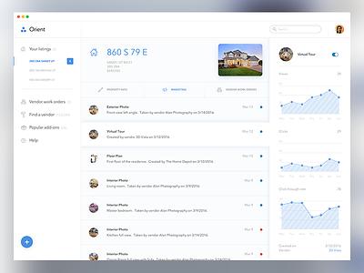Real Estate App Concept product web app app concept real estate