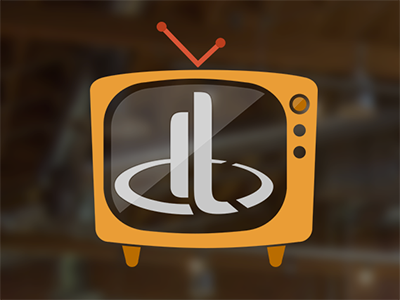 Dt Tv tv icon podcast video outro television monitor retro