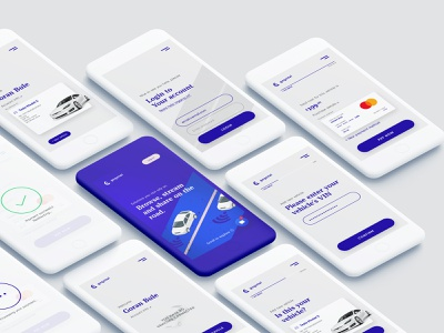 Connected car app | Free PSD free psd freebie ux design mobile ui app