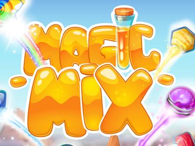 Magic Mix - 2d graphics design magic mix character design graphics design puzzle match3 2d