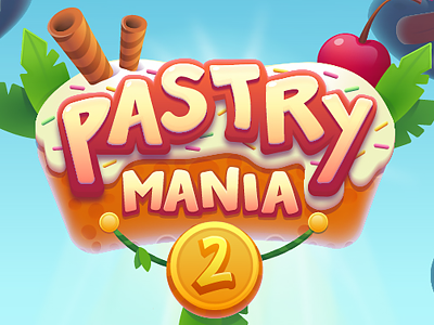 Pastry Mania 2 - 2d graphics design pastry mania character design graphics design game design game vector puzzle match3 2d