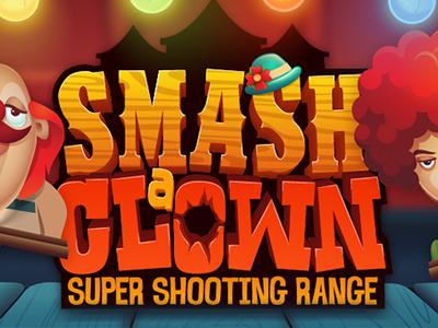 Smash a Clown - 2d graphics design graphics design game design character design game puzzle mobile arcade illustration 2d