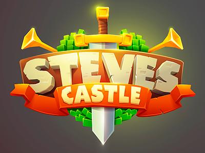 Steve Castle - 2d tower defense game design tower defense illustration artwork art animation character mobile casual vector 2d