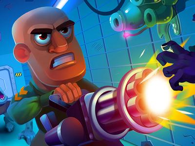Don Zombie - Promotional artwork concept character character concept artwork character art 2d illustration 2d character 2d art render concept art vector game art character arcade mobile illustration game design game graphics design character design 2d