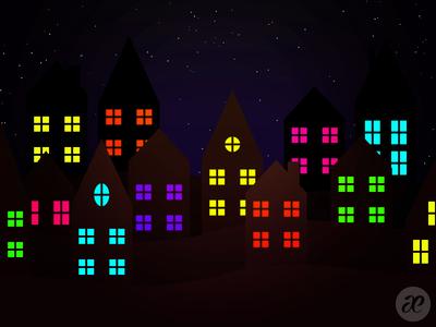 Happy Shiny Houses