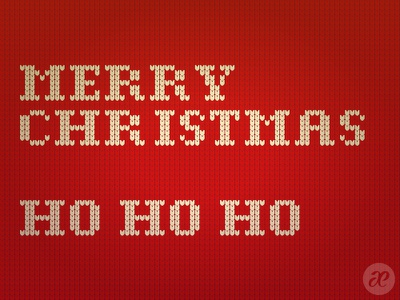 Need some Sweater Type? pattern lettering christmas illustration digital vector