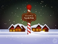 Up at the North Pole