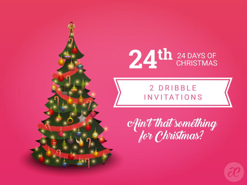 24 dribbble invites