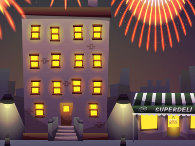 New Year's City