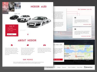 Daily Ui  003 d3 bcit jarell alvarez landing pages cars automotive vancouver 003 dailyui