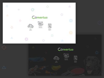 Wallpaper   Convertus Light Dark convertus icons flat wallpaper automotive