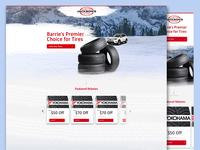 Landing Page Winter Tire
