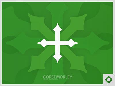 GORSE Morley Logo school green cross academy teaching school morley logo branding