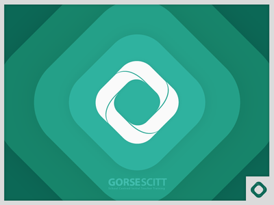 GORSE SCITT Logo logomark teaching teaching school academy school teal logo branding