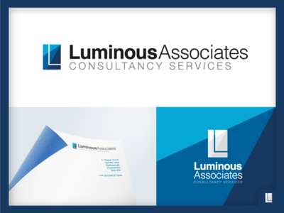 Luminous Associates Logo Design