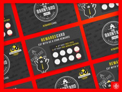 The Barnyard Grill Rewards Card