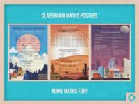Maths poster large