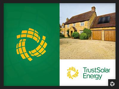 Solar Energy Company Logo battery renewable energy renewable heating solar energy solar system home improvement sun leads energy solar logo branding