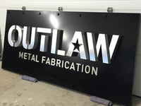 Signage - Outlaw Metal Fabrication