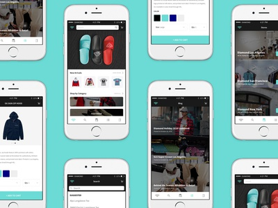 Diamond Supply App