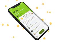 New Flora Drip 💧 ios ux ui mobile iphone challenge