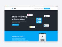 Noix Marketing Site website landing page app site marketing web