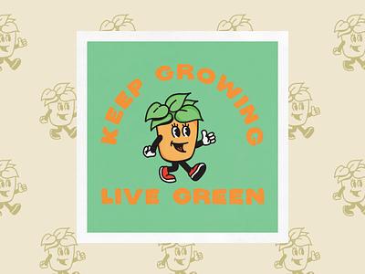 Lil Planter design handdrawn logo hand drawn illustration