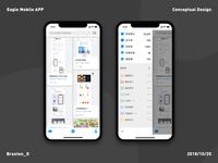 Eagle mobile APP( Conceptual Design)