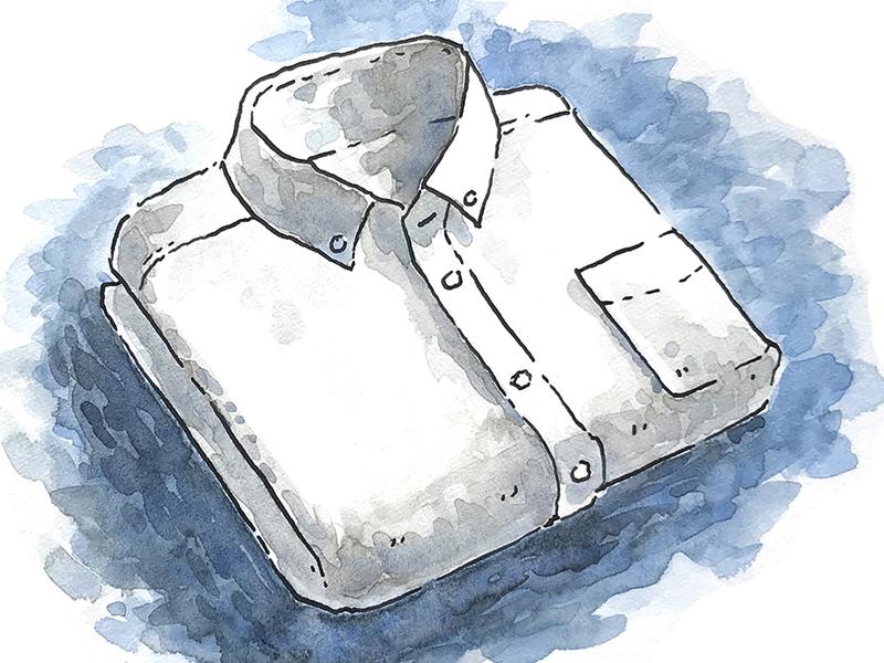 Button Down Oxford Cloth Shirt