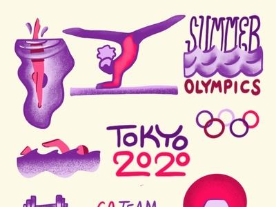 Olympics Stickers Pt 2
