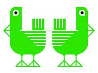 Green Pigeon Buddies