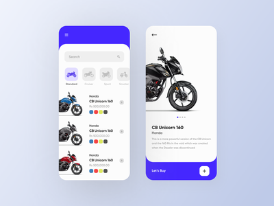 Bike Shop animation iphone design apple abstract ios minimal flat concept branding app design ux ui bikes