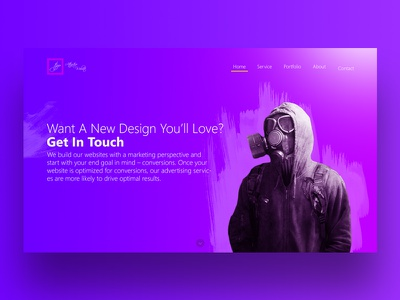 Attractive clean branding abstract illustration graphic design app web ux ui
