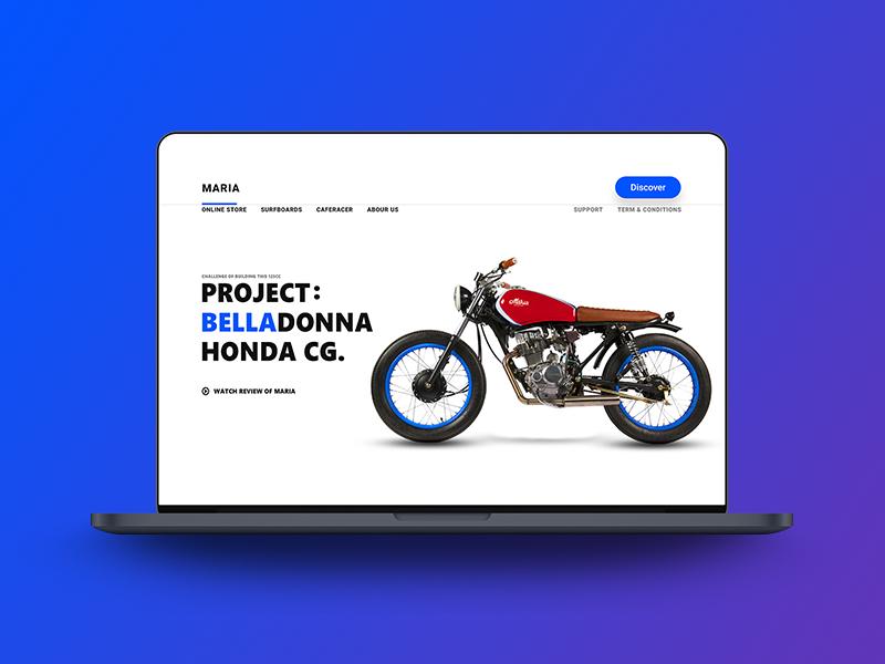 Belladonna clean branding abstract ui ux web app graphic design illustration