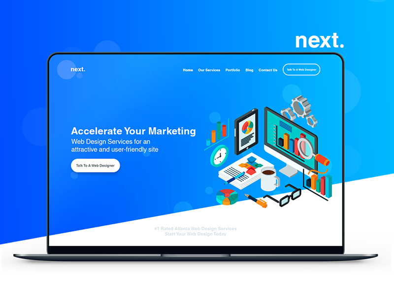 Project Next By Pathum Tzoo On Dribbble