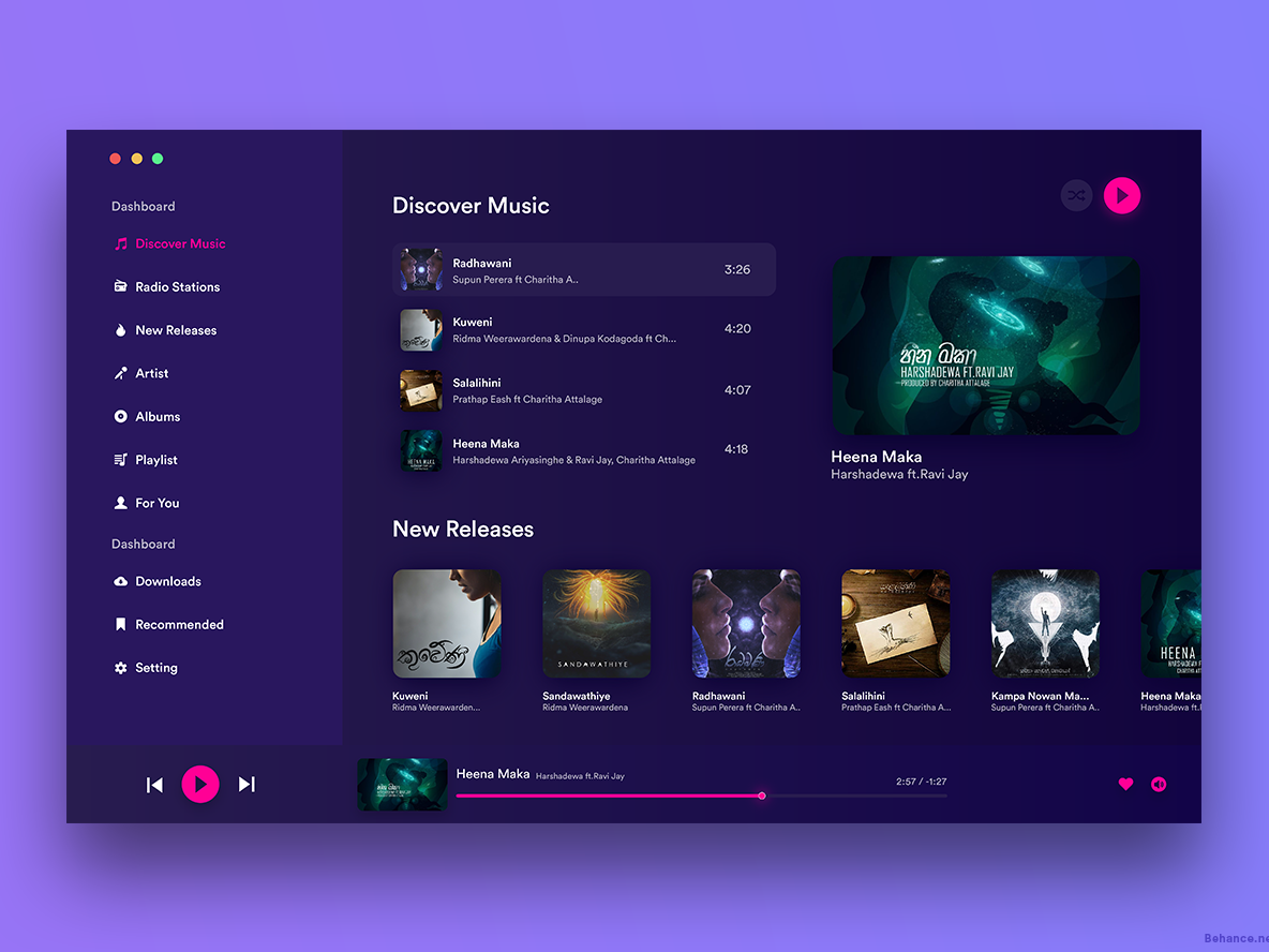 Music Player clean  creative app design animation music typography logo iphone vector ios design apple abstract web graphic design branding illustration app clean ux ui