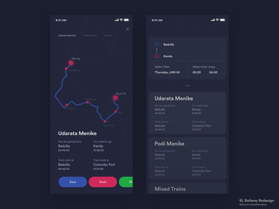 Sl Railway Redesign app design vector flat design website icon iphone ios abstract graphic design branding illustration app clean ux ui